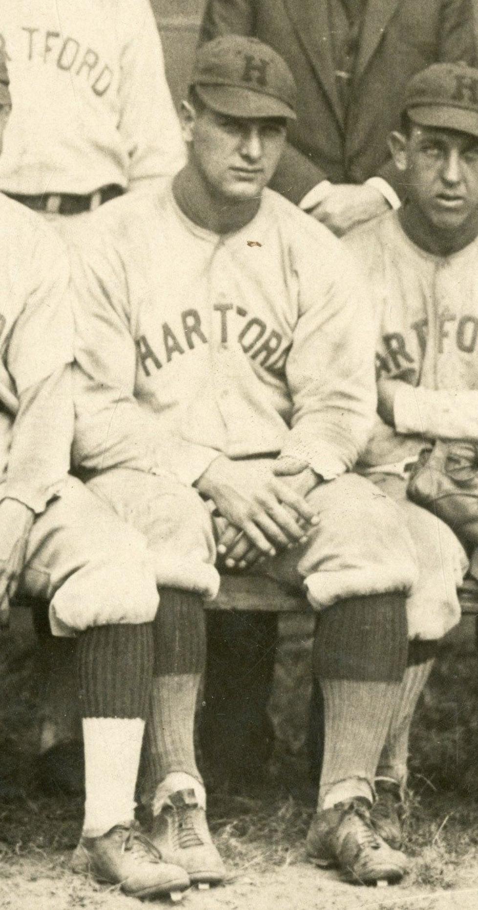 Lou Gehrig, Hartford Senators, 1924.