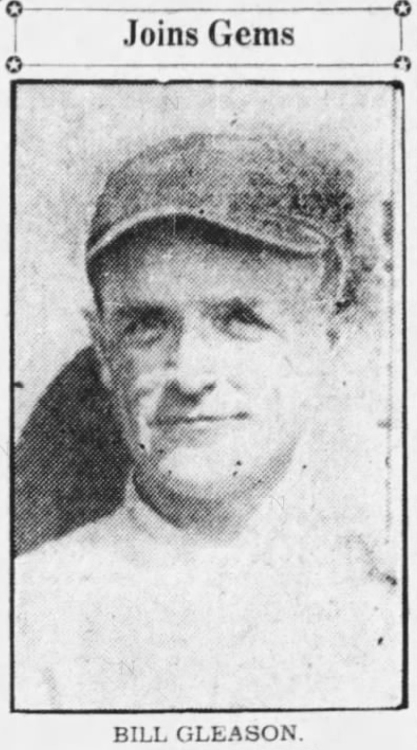 Bill Gleason, Savitt Gems, 1933.