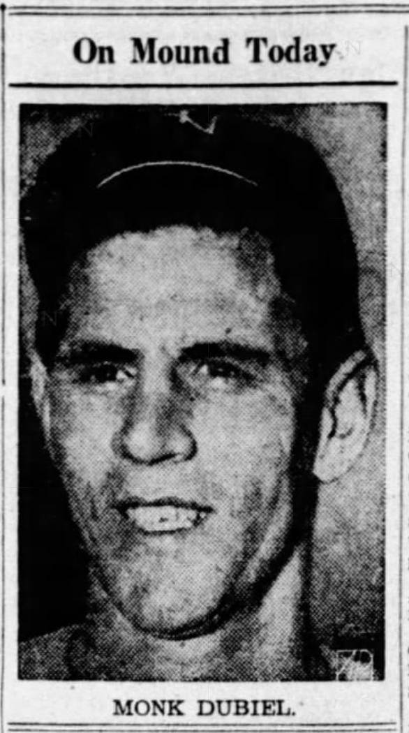 Monk Dubiel, Savitt Gems, 1945.