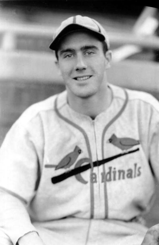 """Bob """"Spike"""" Repass, St. Louis Cardinals, 1939."""