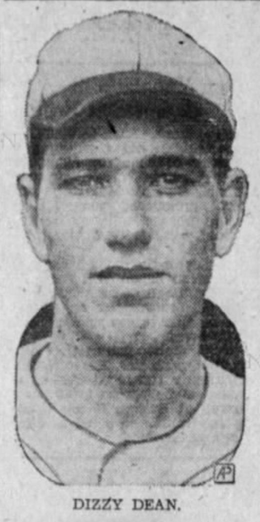 Dizzy Dean, St. Louis Cardinals, 1936.