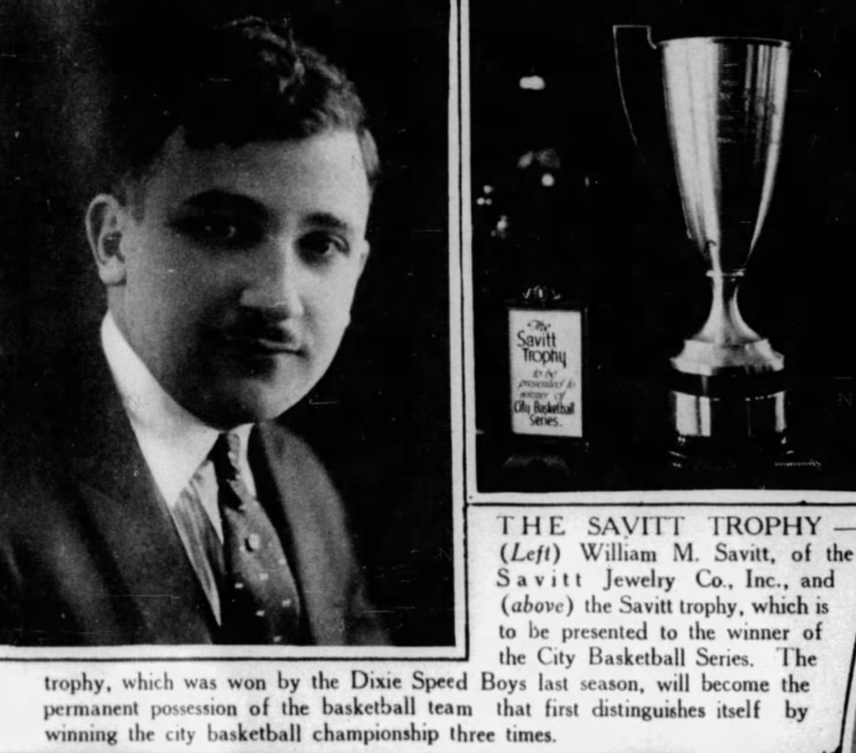 Bill Savitt, 1925.