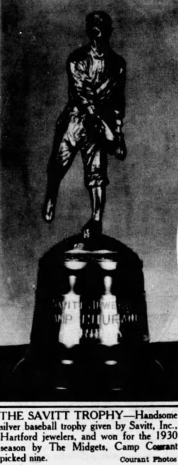The Savitt Trophy, 1930.