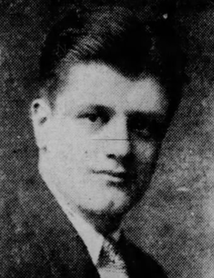 "Frank ""Bat"" Orefice, Savitt's Cardinals, 1929."