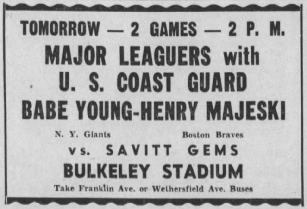 Savitt Gems vs. U.S. Coast Guard, 1943.