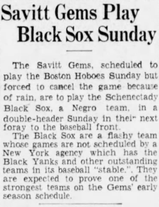 Hartford Courant excerpt, 1936.