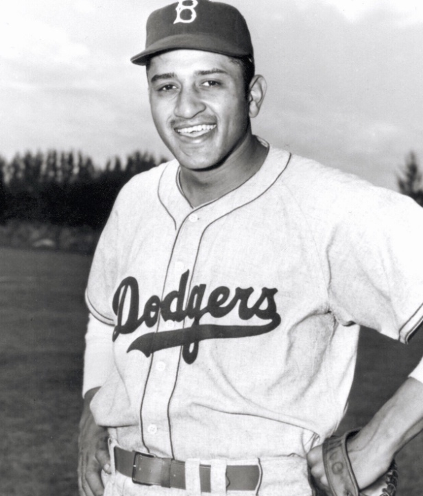 Don Newcombe, Brooklyn Dodgers, 1949.