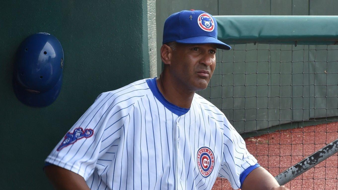 Jimmy Gonzalez, Manager, South Bend Cubs, 2015-2018.