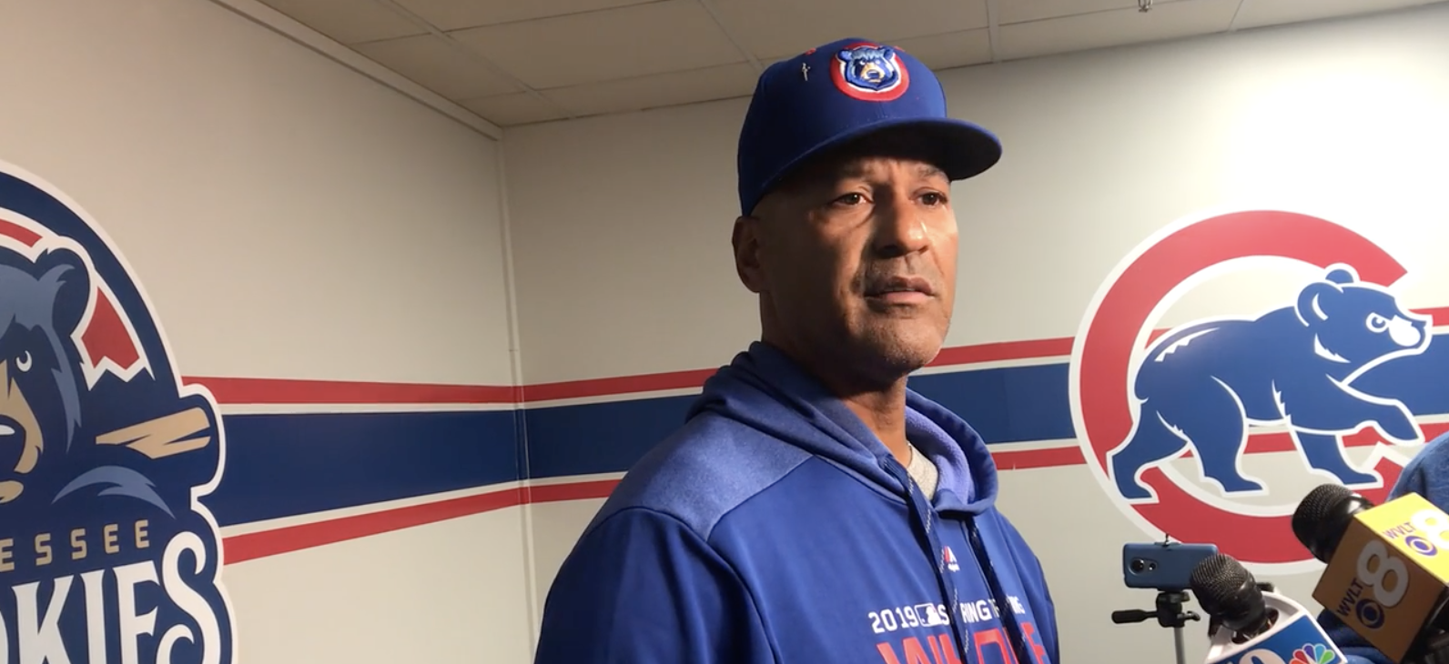 Jimmy Gonzalez, Manager, Tennessee Smokies, 2019.