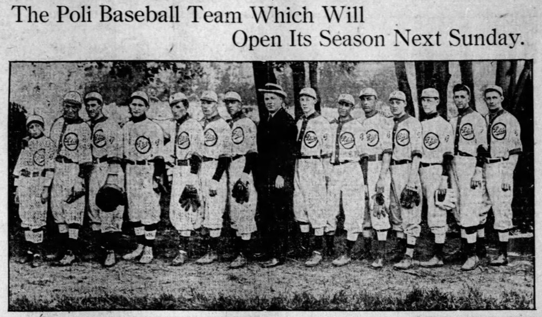 1913 Hartford Poli's Baseball Club