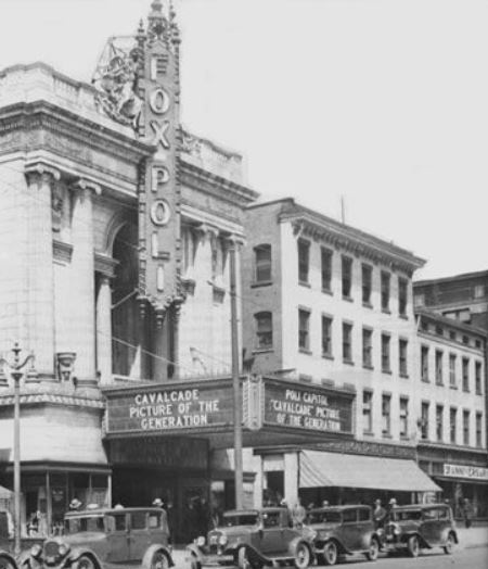 Fox Poli Theatre, Hartford, Connecticut, 1929.