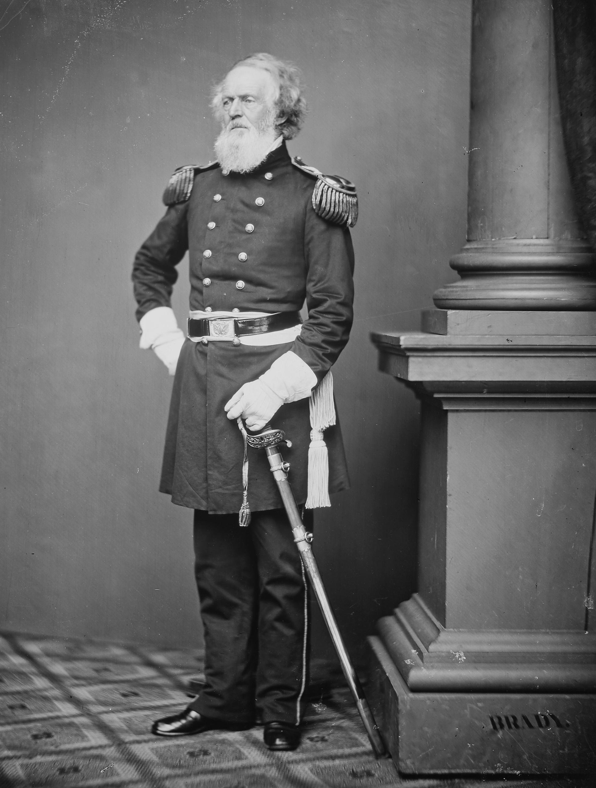 Col. Joseph K. F, Mansfield, 1870.