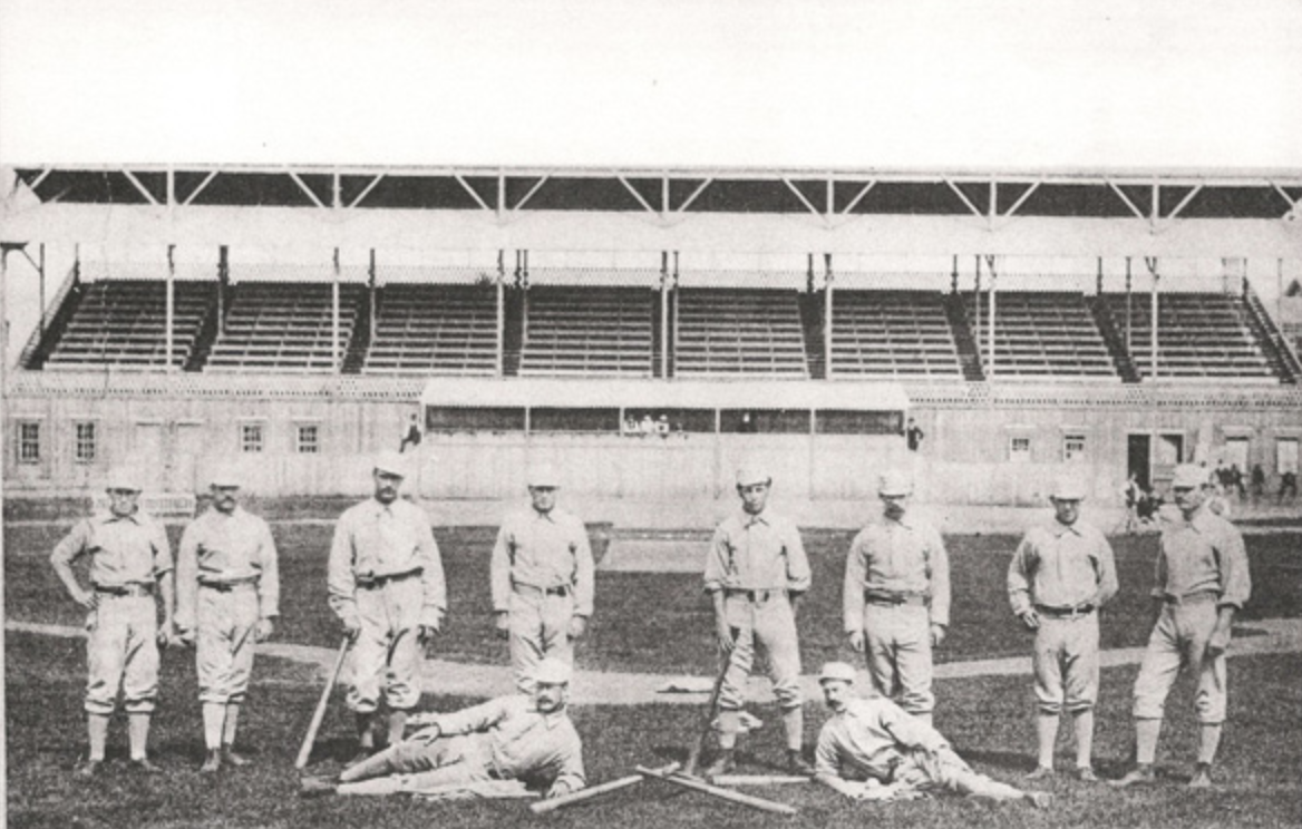 1879 Providence Grays captured the National League title after Ben Douglas Jr. departed the club.