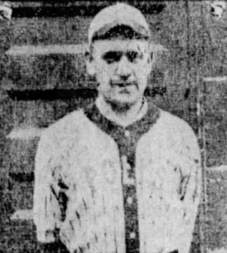 "John ""Boggy"" Muldoon, Catcher, Hartford Poli's, 1918."