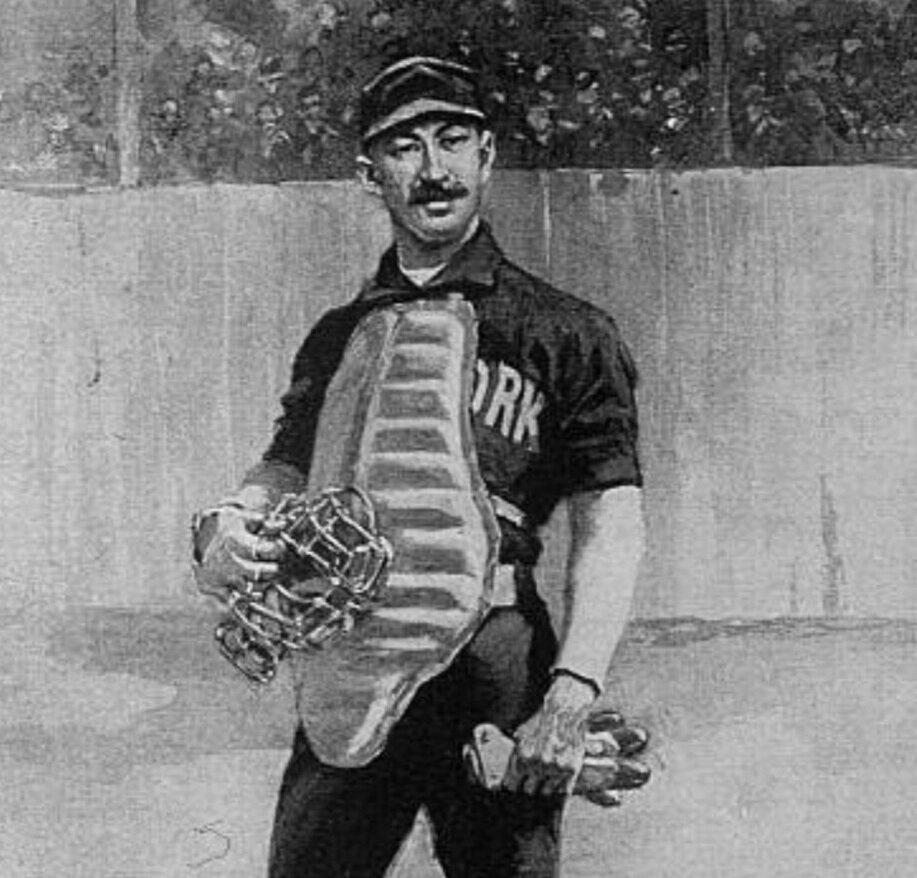 TIMOTHY KEEFE PITCHER BASEBALL WILLIAM EWING CATCHER