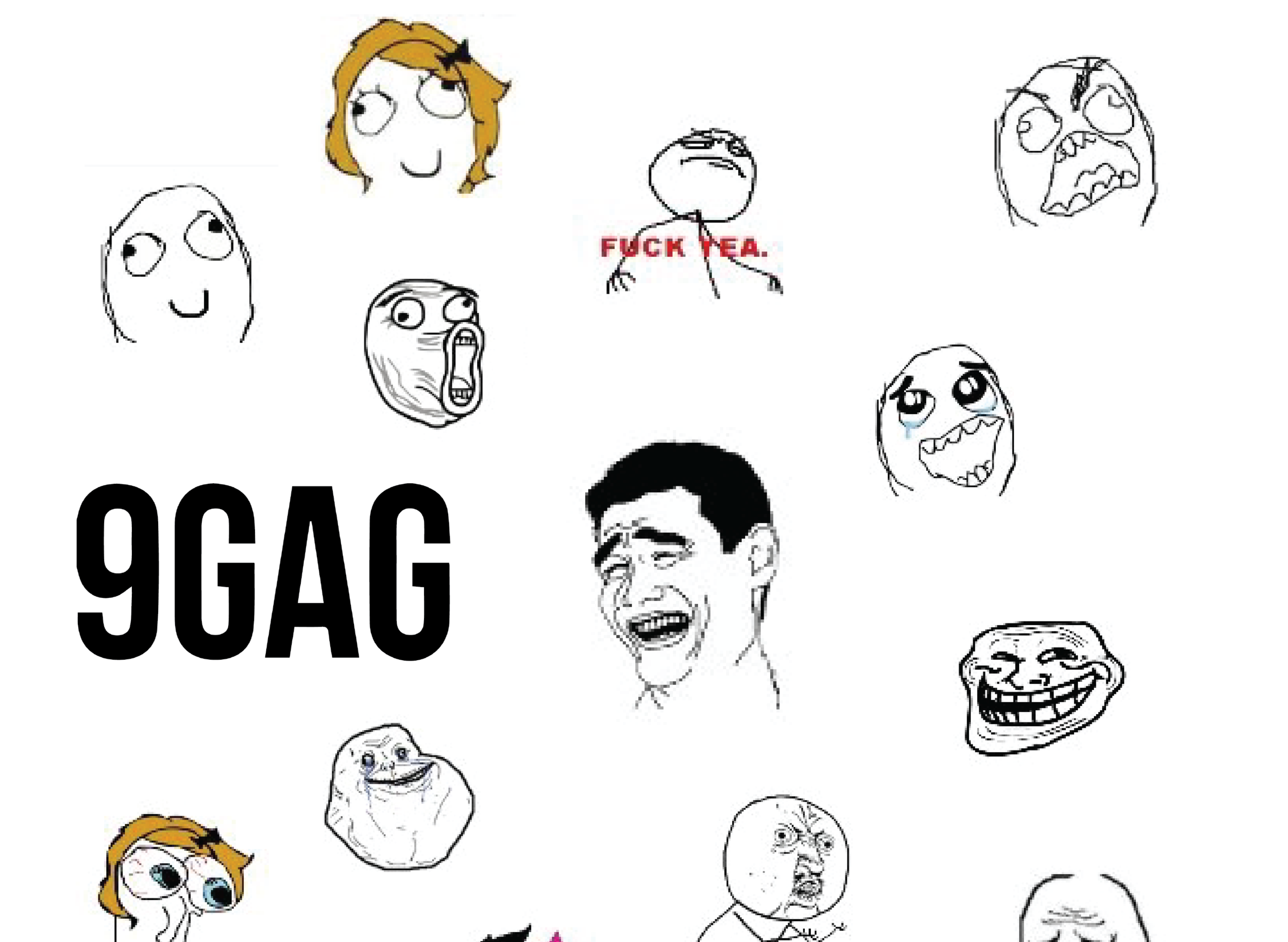 Humor and Race/Gender-related Issues in 9GAG