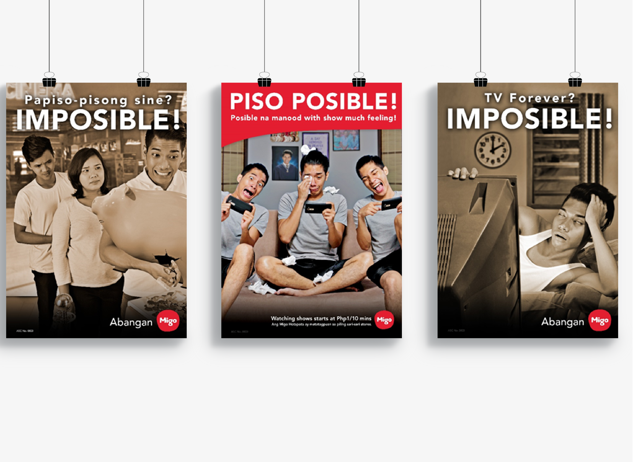 PISO POSIBLE!  : Marketing Campaign for Migo Entertainment