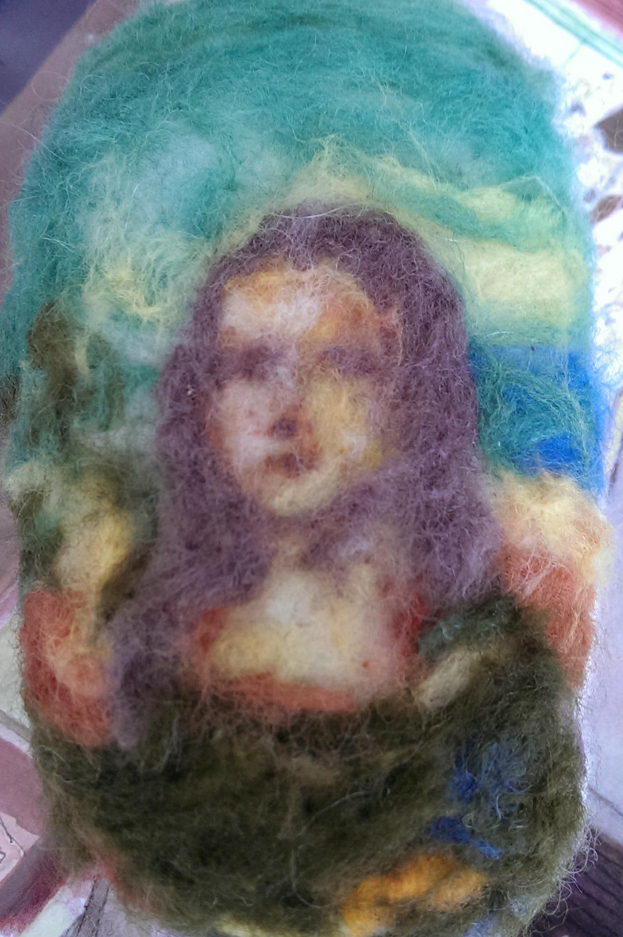 Mona Bubbles Lisa