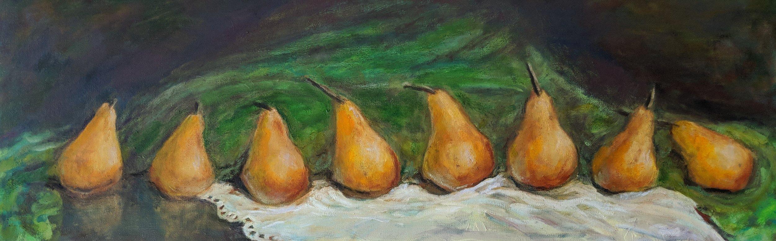 Eight Pears
