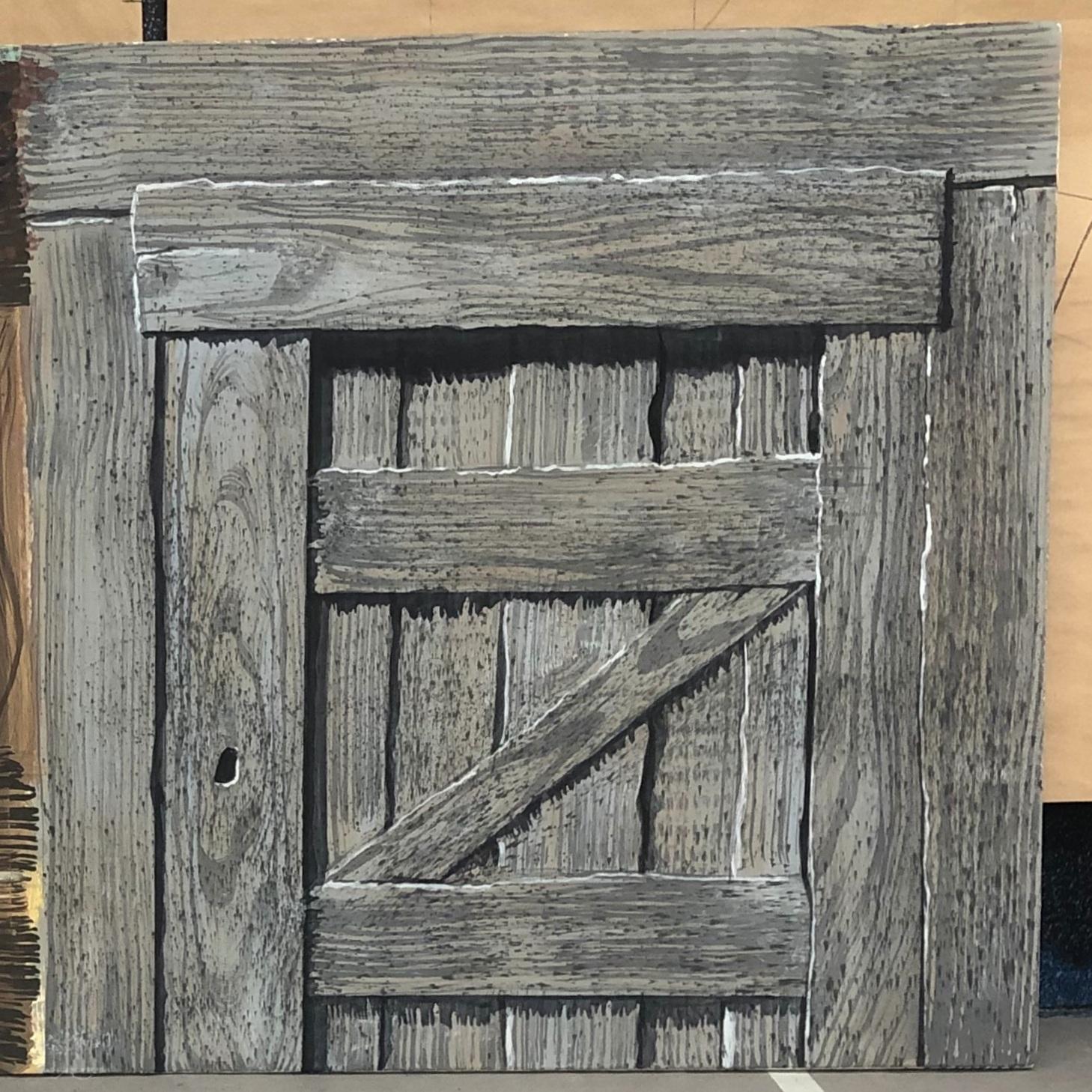 Barn Door Texture Study