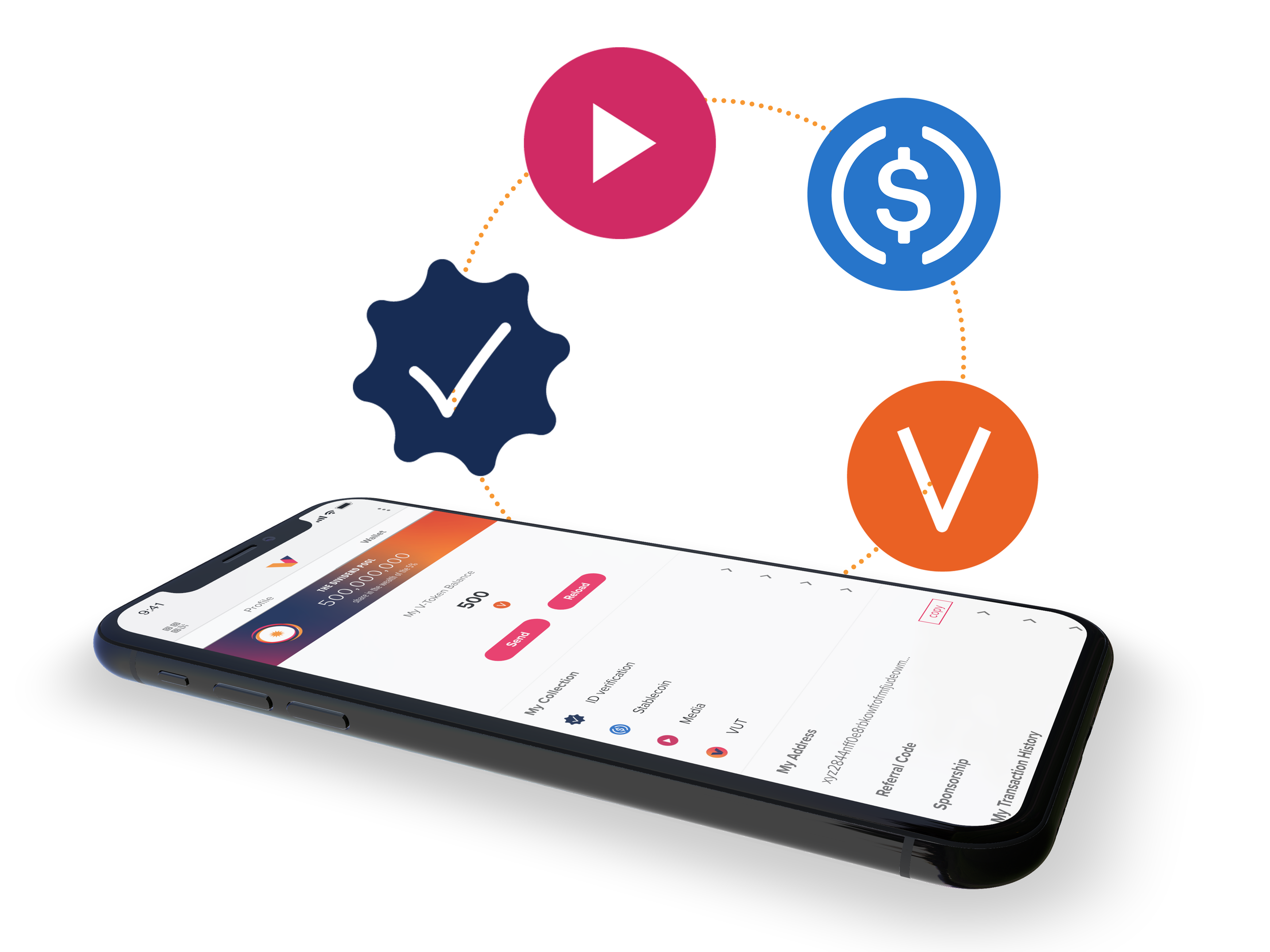 Built on a Revolutionary Multi-token Economy - Vevue is designed to monetize engagement enabled by user transactions for paywalls, up and down votes, cheers, sponsorships and requests.