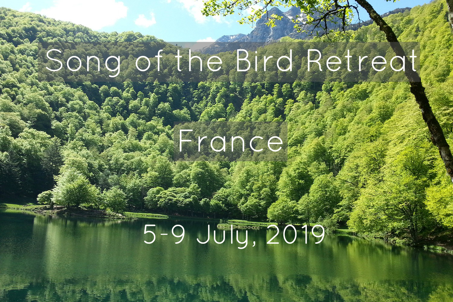 france yoga and dance retreat july 2019