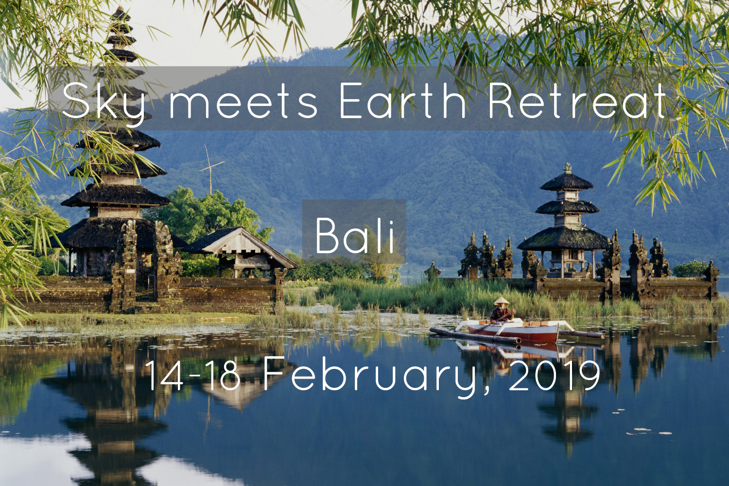 Embrace the profound serenity & beauty of nature in this mindfulness, dance, yoga & diving retreat in north Bali