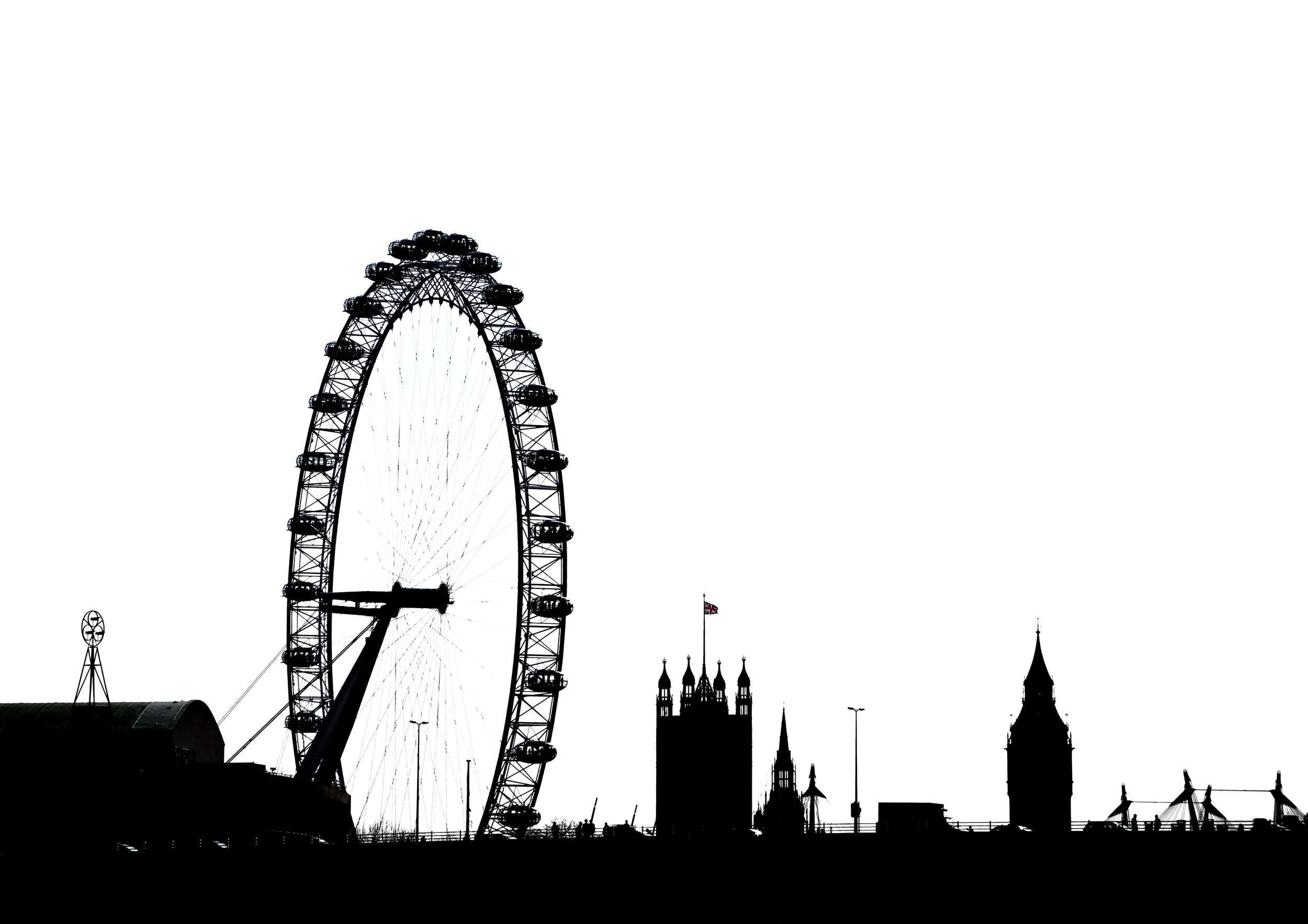 London, England, Wheel