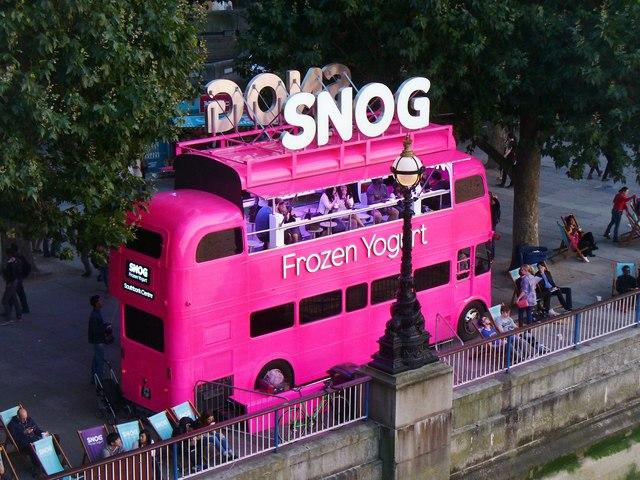 Snog; London, England; Frozen Yogurt