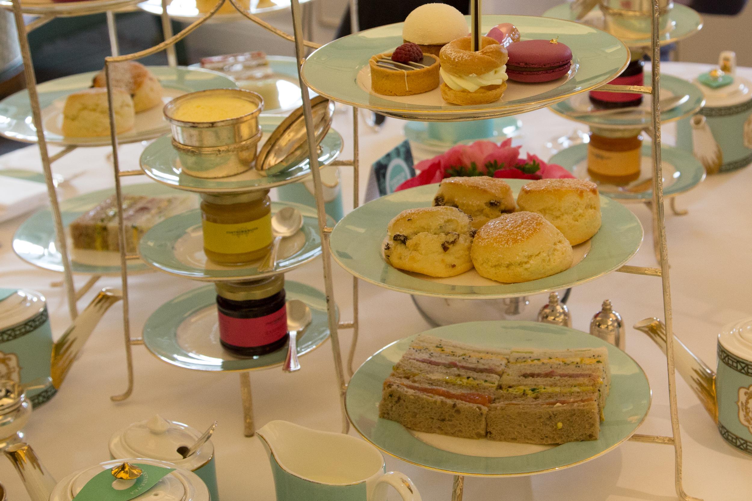 London, England; Tea; Afternoon tea