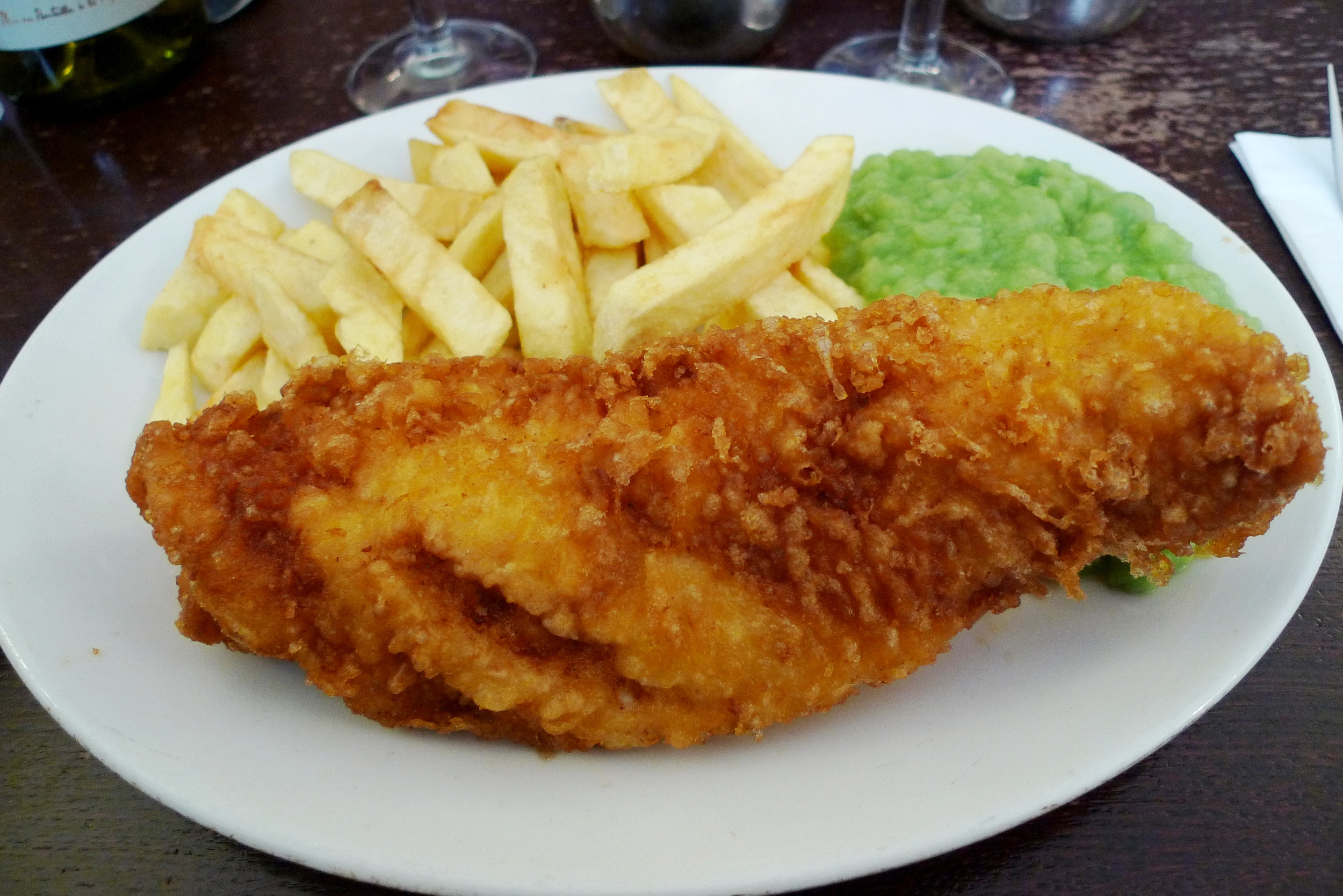 Fish and Chips; London, England