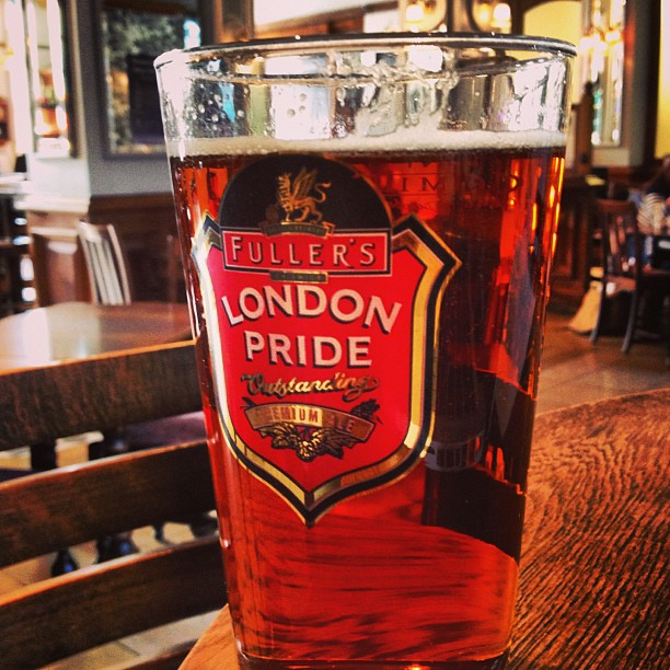 London, England; London Bar; London Pride
