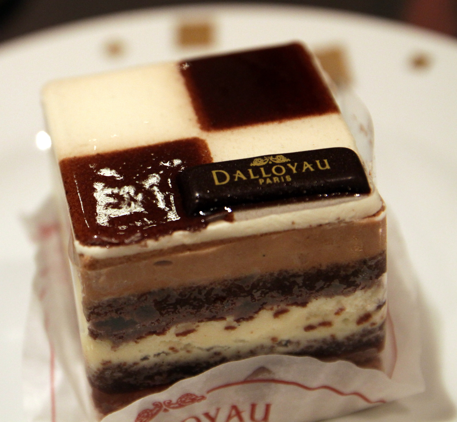 Dalloyau;Paris, France; Gateau Opera