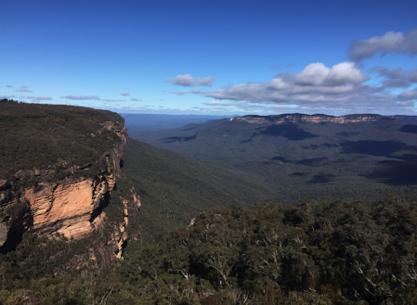Blue Mountains; Sydney, Australia