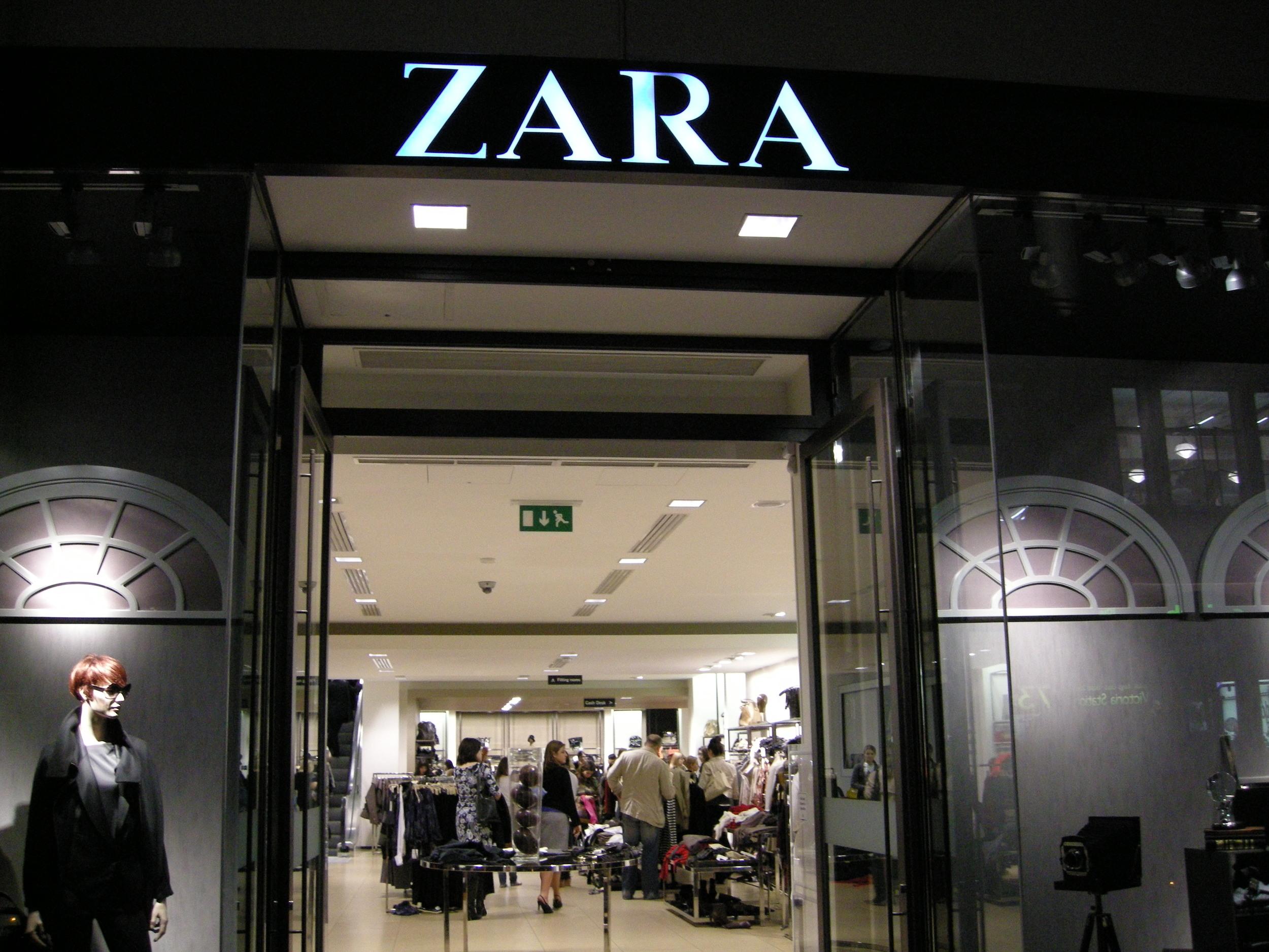 Zara; London, England