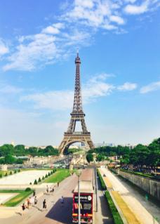 La Tour Eiffel; Paris, France; Eiffel Tower