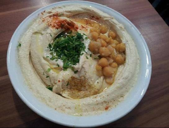 Abu Hassan; Tel Aviv, Israel; Hummus