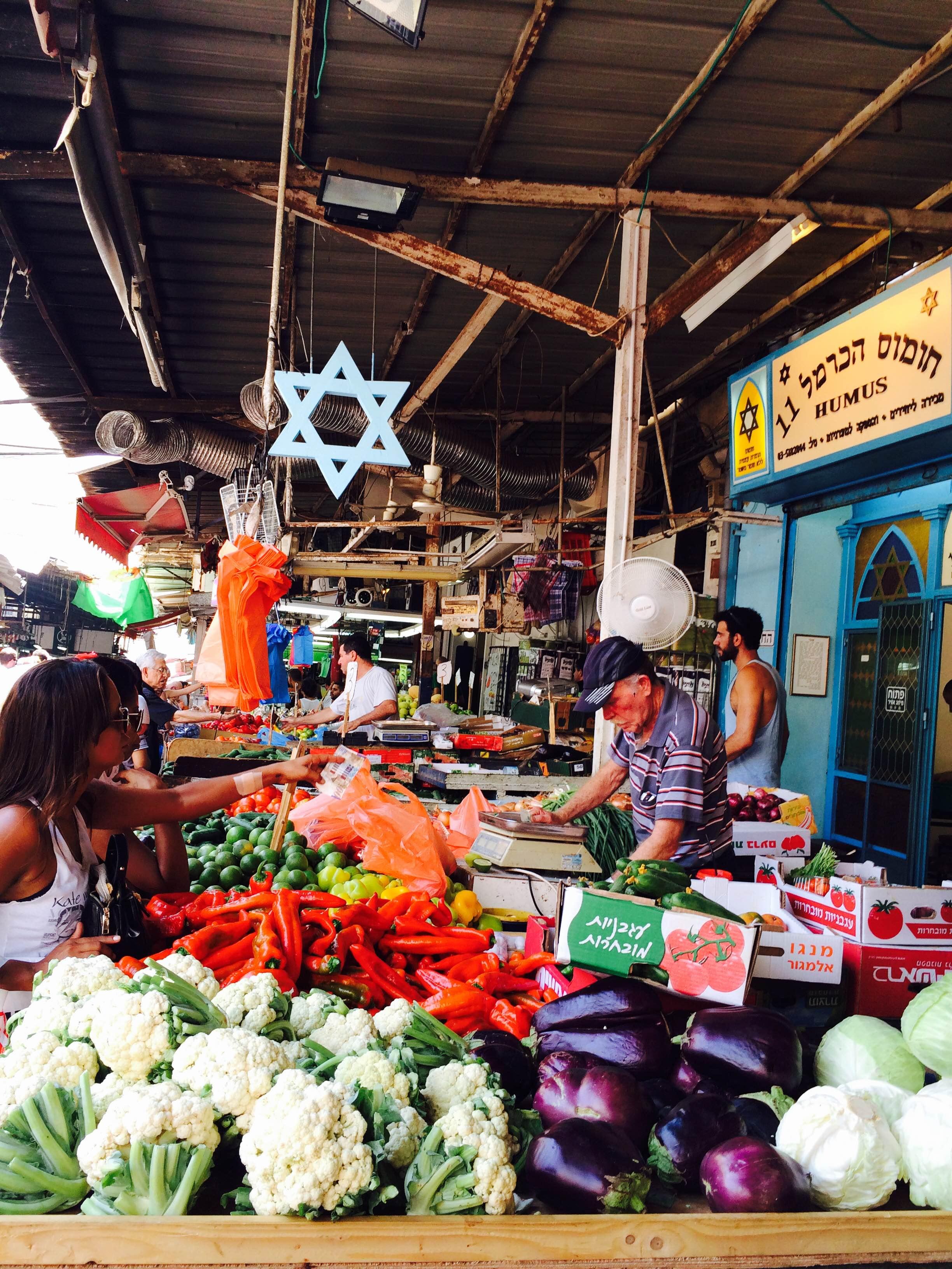 Shuk HaCarmel; Tel Aviv, Israel
