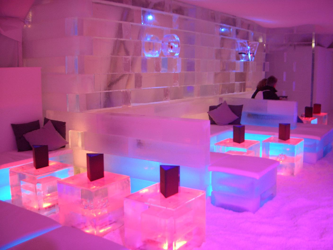 Ice Bar London, England