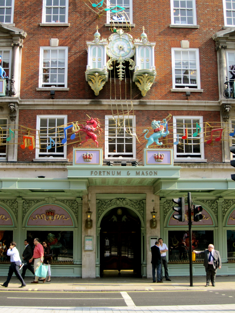 Fortnum & Mason- London, England