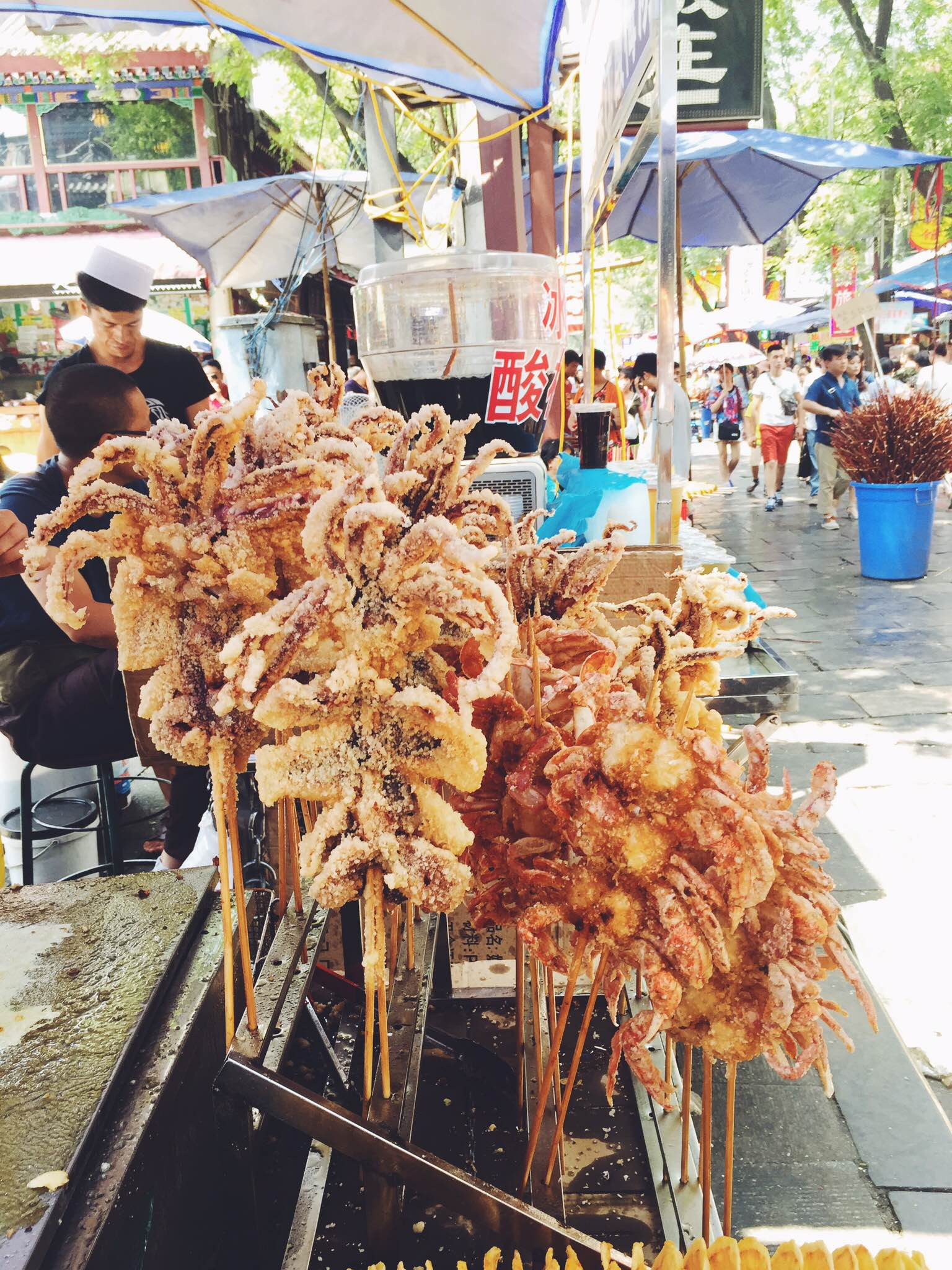 Fried Crab, China