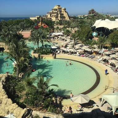 Aquaventure Beach at Atlantis-Dubai