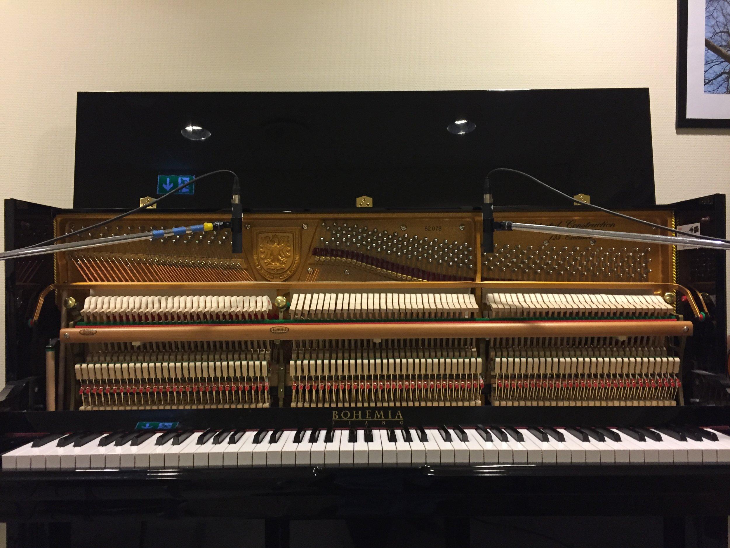 Music School piano.