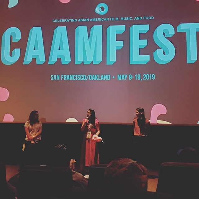 """Just got some fresh inspiration from """"Go Back to China"""" at CAAMFEST 2019. @emilyting917 @mslynnchen @annaakana what a film!  #caamfest #filmfestival #asianamerica"""