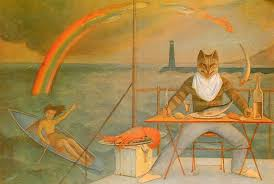 A painting by Balthus, capturing glimpses of limitless pleasure.