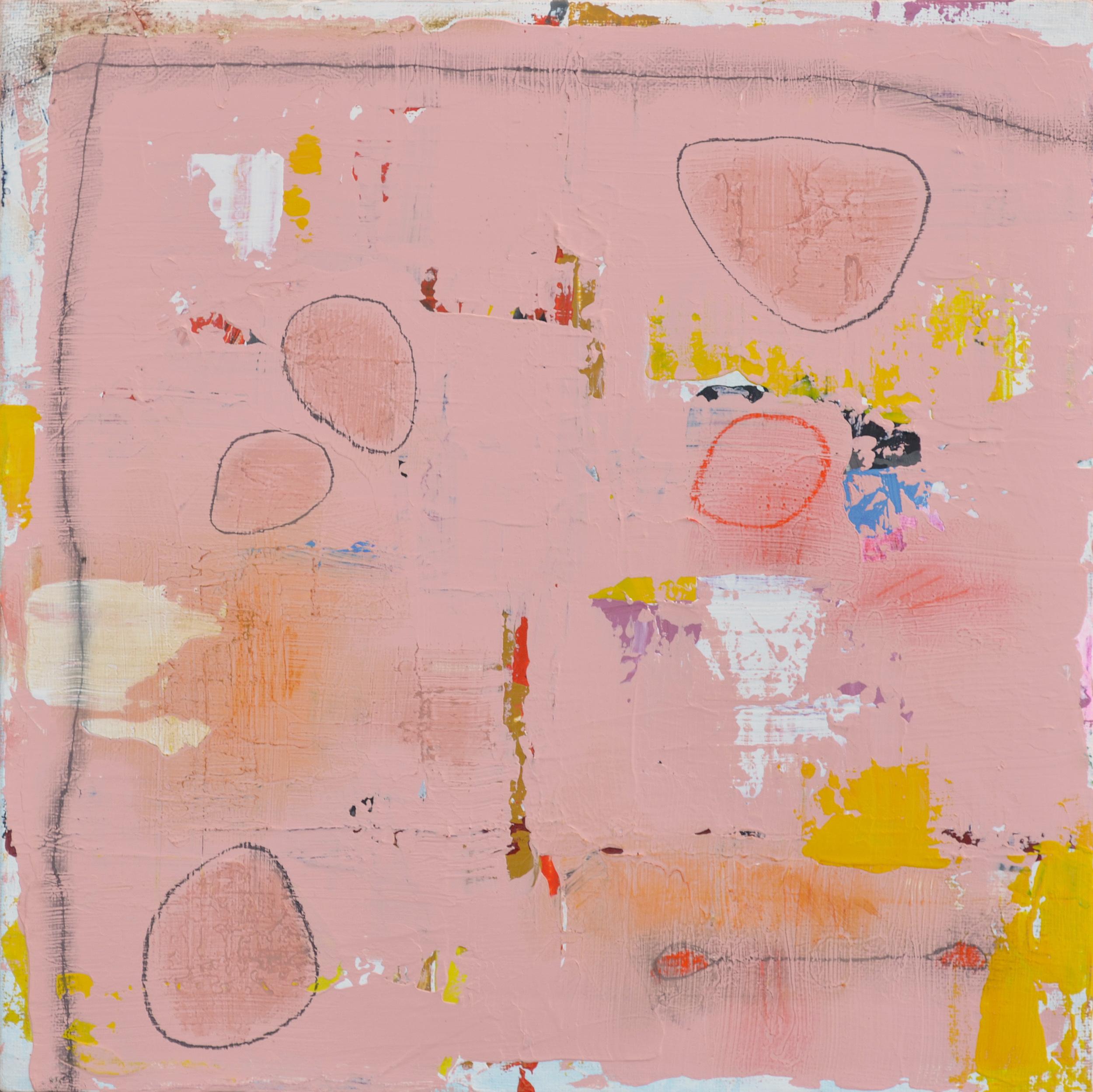 "Neuroplasticity  | 12"" x 12"" acrylic on canvas"