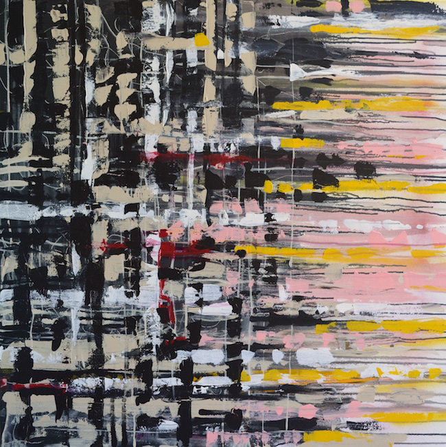 "Blood Work  | 36"" x 36"" acrylic on canvas"