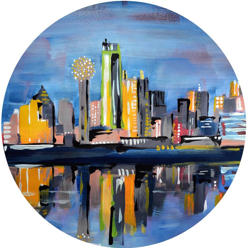 Trinity River Skyline | Dallas, TX