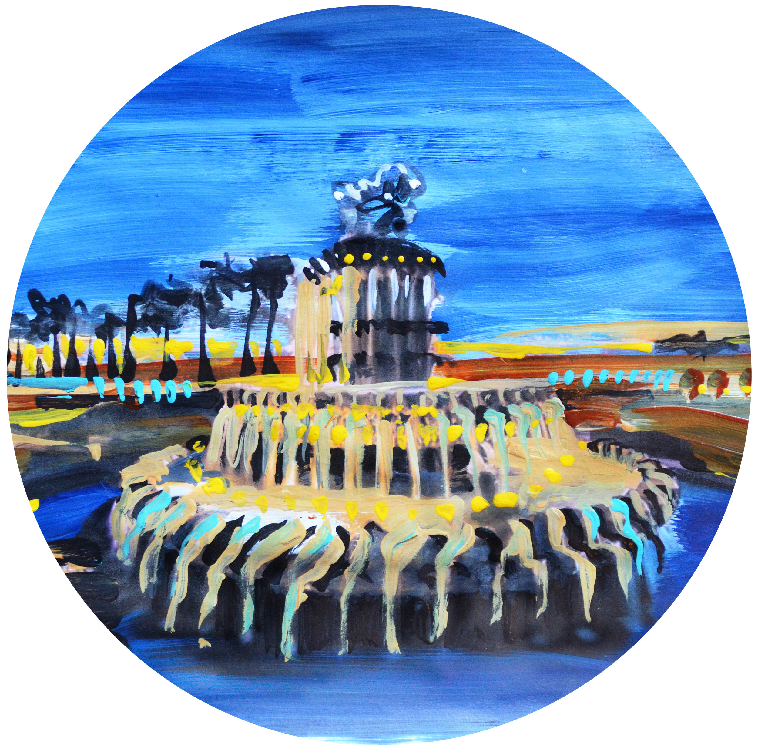 Pineapple Fountain | Charleston, SC