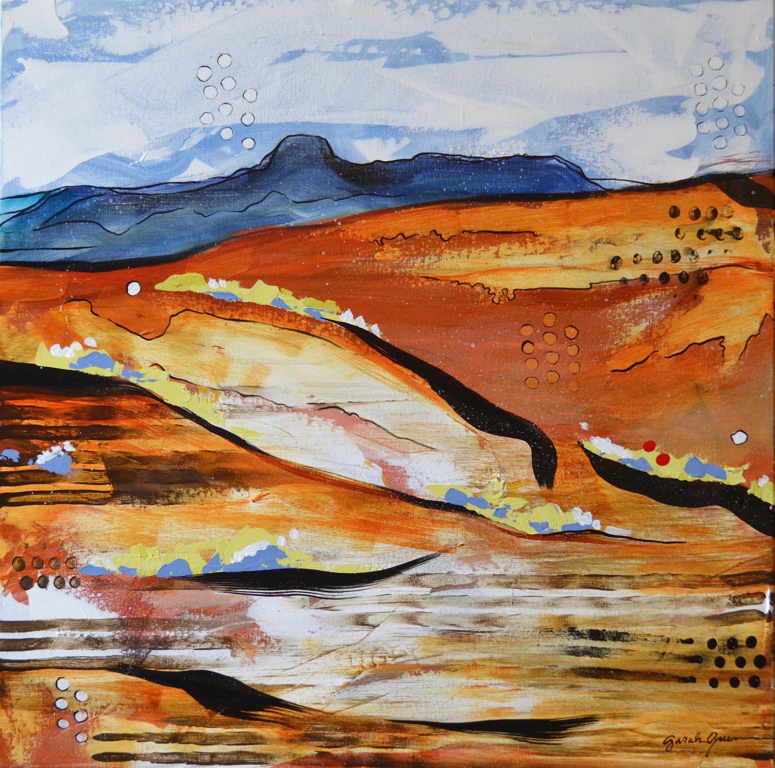 Kingdom of Daylight 2  | 24 x 24 inch acrylic on canvas